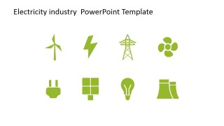 Clipart Designs for Electric Energy Generation