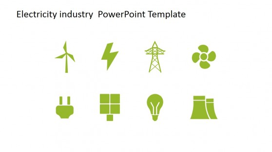 Editable Electricity Industry Graphics for PowerPoint