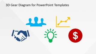 Colored PowerPoint Icons for Business Scenarios
