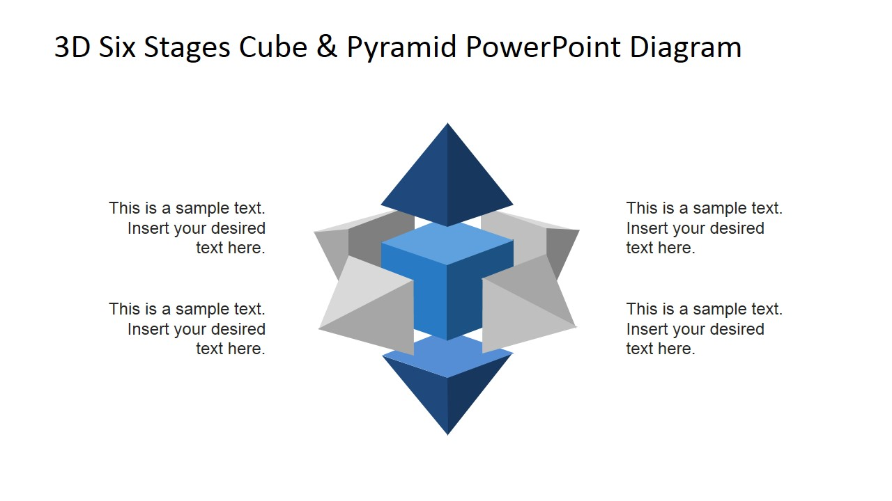 PowerPoint Diagram Top and Bottoms Stages Highlighted