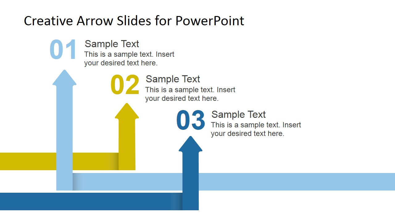 Arrows Pointing Up Picture for PowerPoint