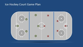 Flat Court with Players