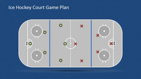 Flat Court with Player Icons