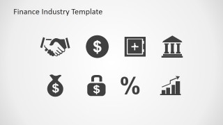 PowerPoint Icons featuring Finance Industry