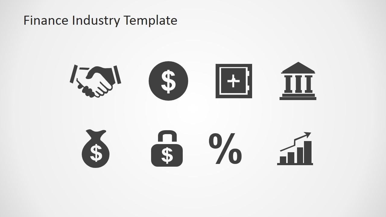 finance industry clipart for powerpoint slidemodel. Black Bedroom Furniture Sets. Home Design Ideas