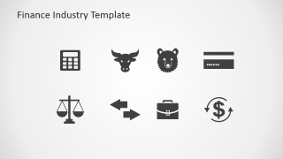 Trading Markets PowerPoint Shapes Clipart
