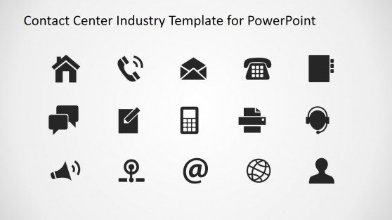 PowerPoint Template for Communications Marketing