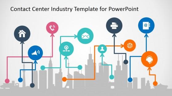 PowerPoint Slide for Modern Communication for Business