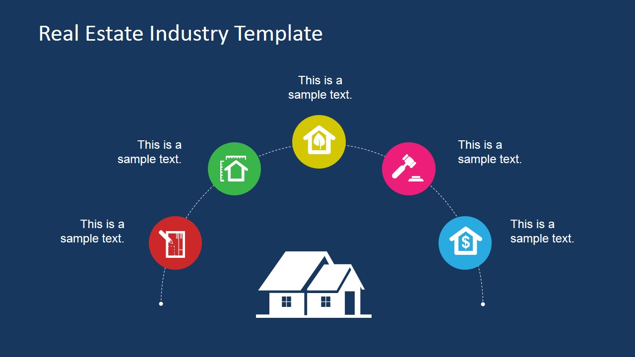 Real estate industry powerpoint template slidemodel generic real estate icons for powerpoint toneelgroepblik