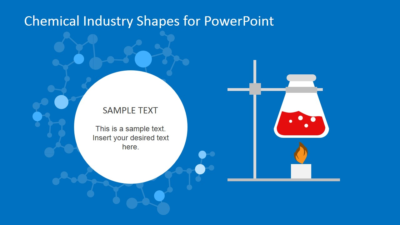 chemical industry shapes for powerpoint