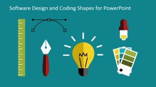 Presentation template for designers