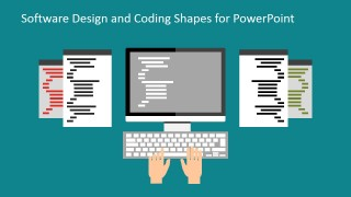 Integrated Development Environments PowerPoint Shapes