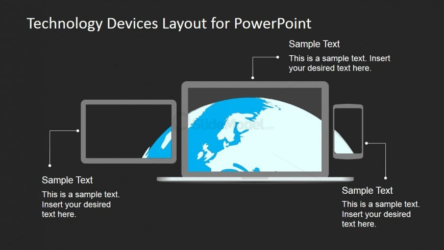 Technology Display Picture for PowerPoint