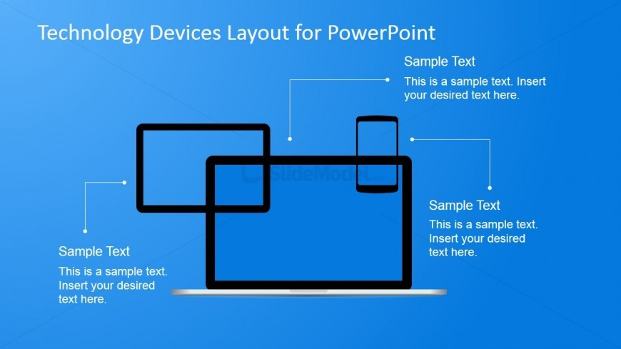 Technology Layout Design for PowerPoint