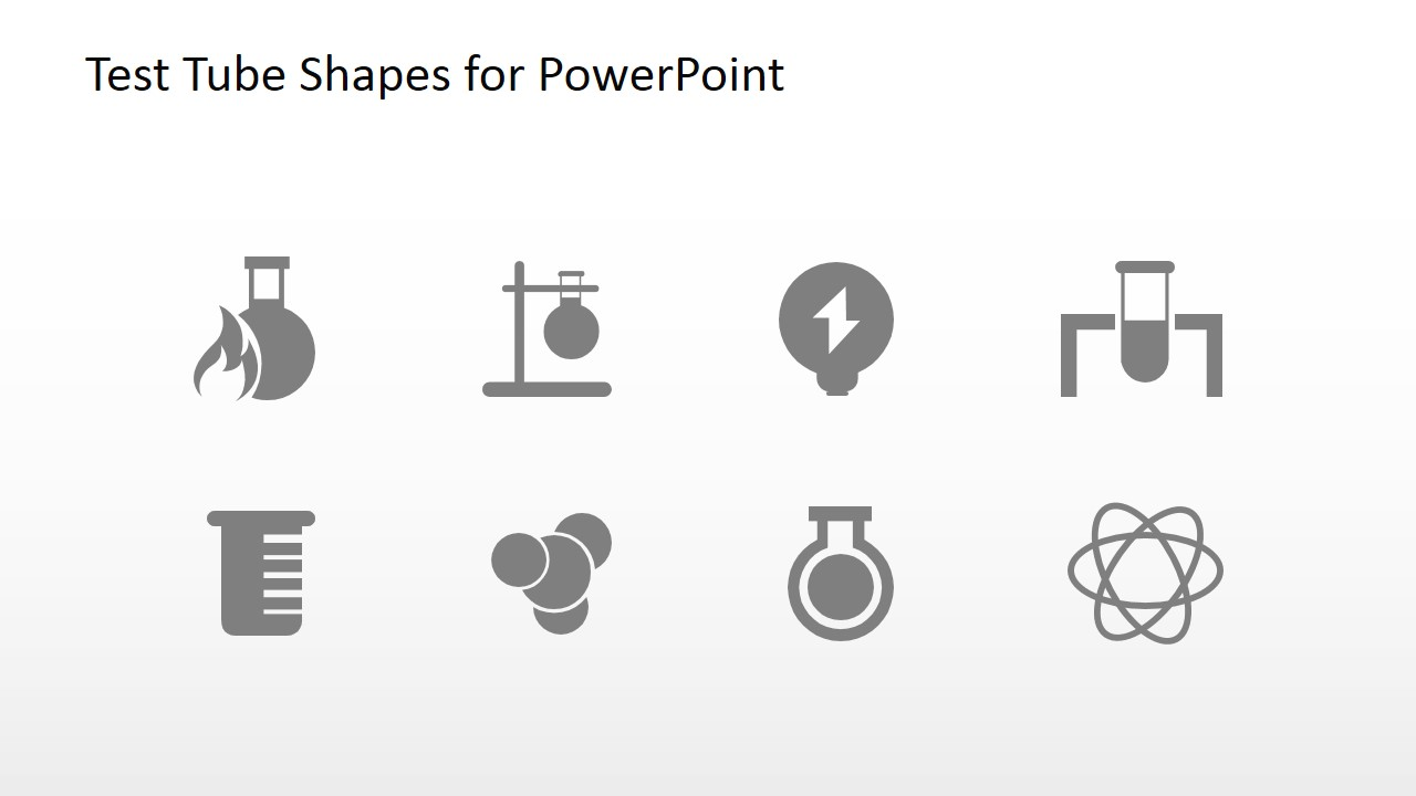 Science Project PowerPoint Icon Set