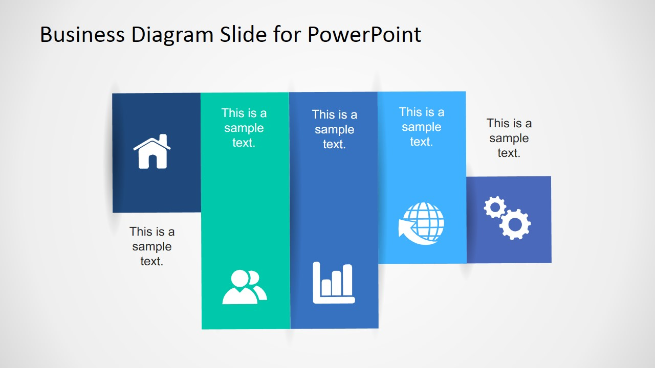 PowerPoint Panel and Icons for Agenda