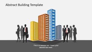Buildings and Corporate Employees for PowerPoint