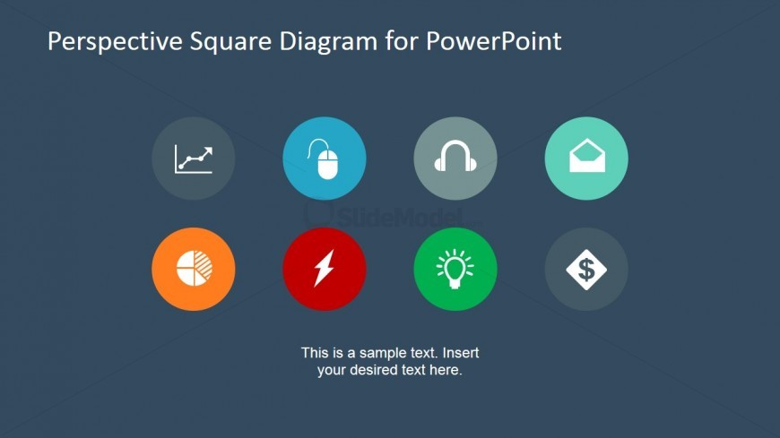 PowerPoint Icon Set Slide Design for Presentations