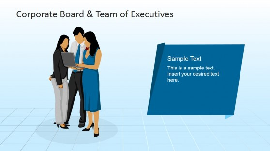 Corporate Teamwork PowerPoint Scene