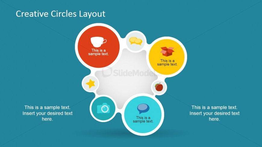 7 Stage Circular Sequence PowerPoint Diagram