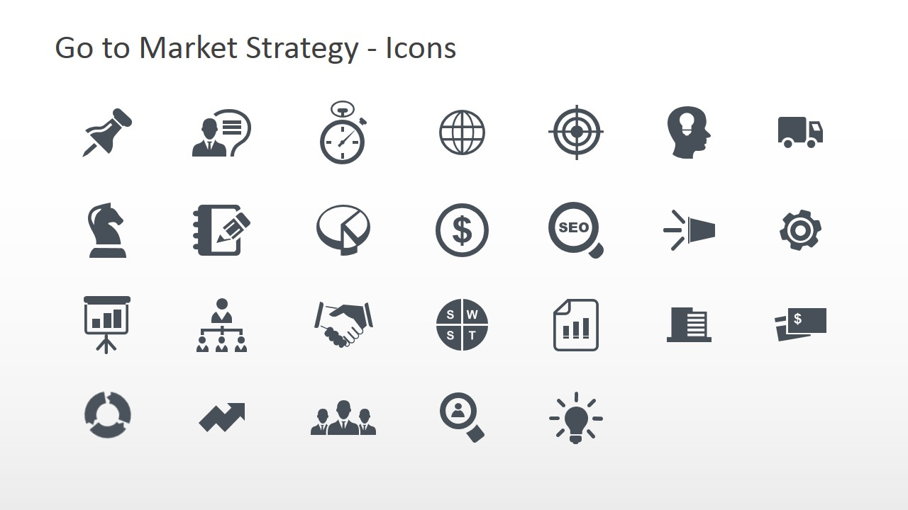Go to market strategy powerpoint template slidemodel go to market strategy powerpoint icons toneelgroepblik Image collections