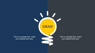 Bright Idea Slide Design for PowerPoint