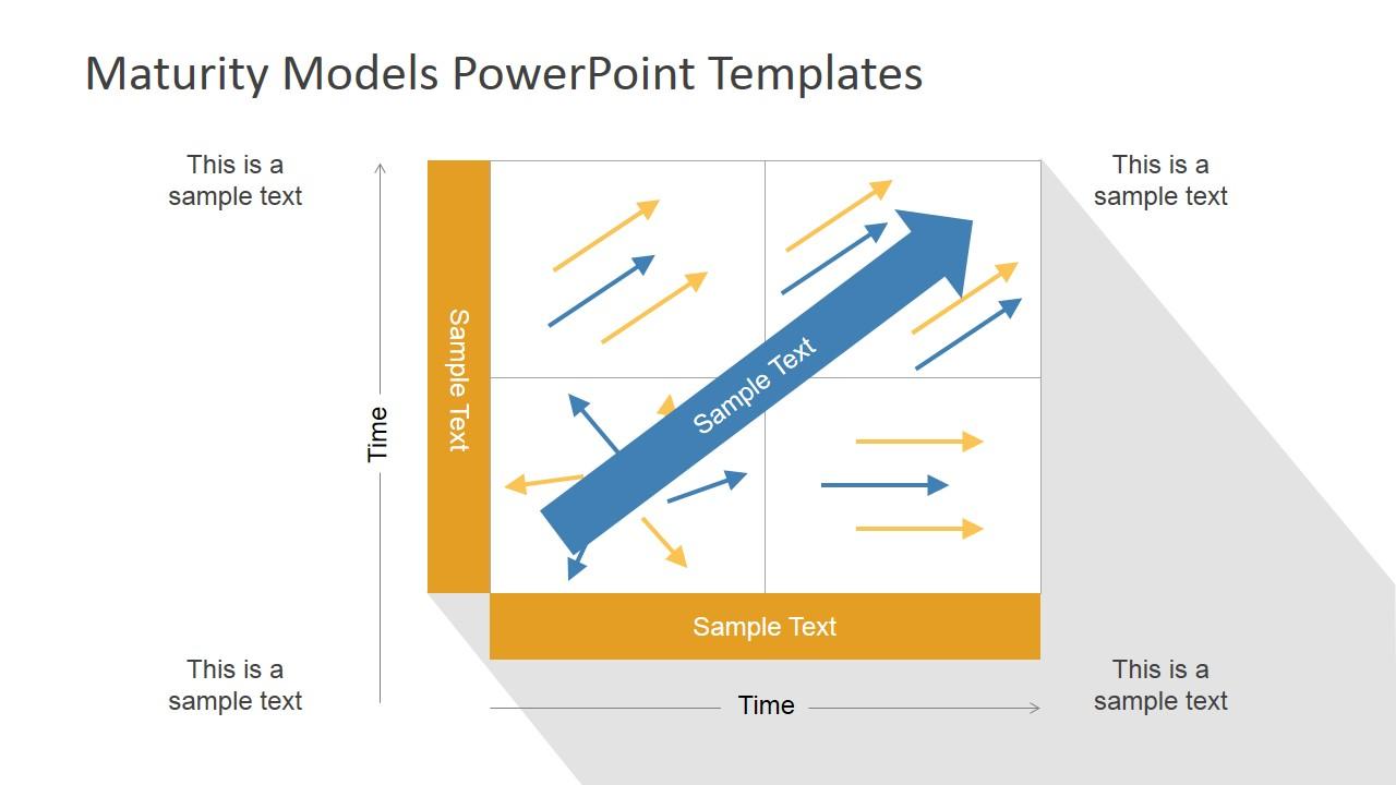 Complex four quadrant graph for business maturity powerpoint model complex four quadrant graph for business maturity powerpoint model slidemodel ccuart Images