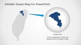 Map of Taoyuan City, Taiwan