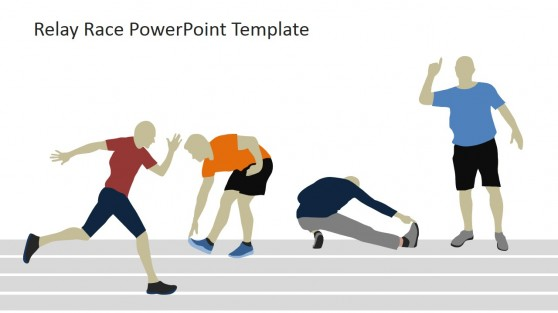PowerPoint Shapes of Runner Warm-up Activities