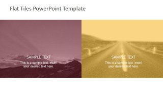Landscape Scenes with Placeholders for PowerPoint