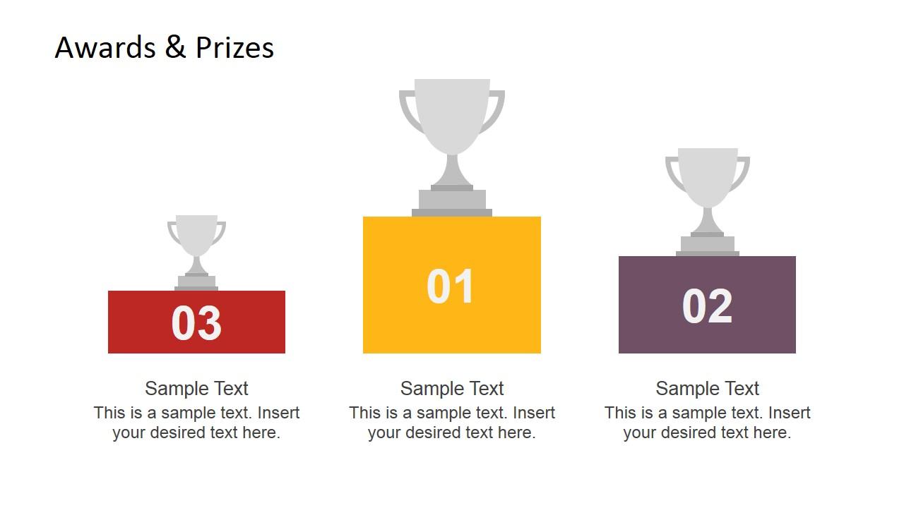 Awards & Prizes Slide Design for PowerPoint