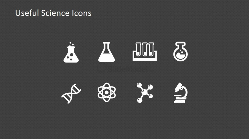 PowerPoint Icons Featuring Science and Lab Metaphors