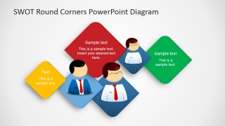 PowerPoint Design Executives SWOT Analysis