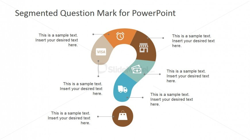 PowerPoint Shapes and Icons Featuring the Purchase Process