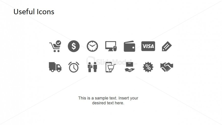 Useful PowerPoint Business Icon Set