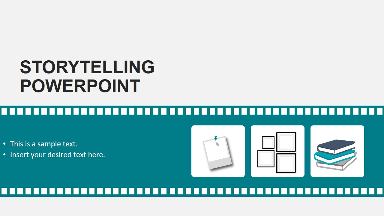 Storytelling theme powerpoint template slidemodel storytelling theme powerpoint template powerpoint film and storyboard shapes toneelgroepblik