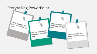 PowerPoint Shapes of Polaroid Photos for Storyboarding