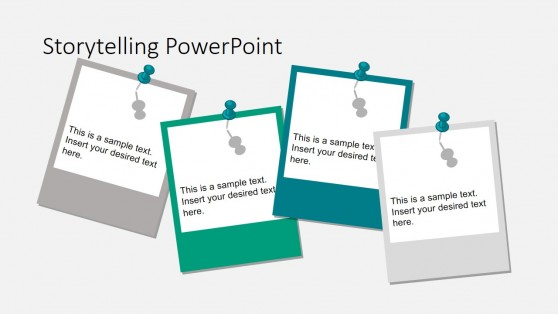 Polaroid Style Storyboard Shapes for PowerPoint