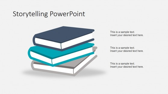 Story Books Shapes for PowerPoint