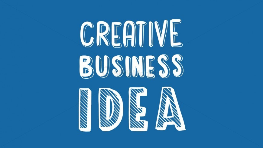 Creative Business Idea Picture for PowerPoint