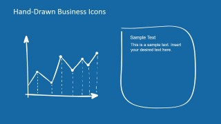 Hand-Drawn Line Chart Design for PowerPoint