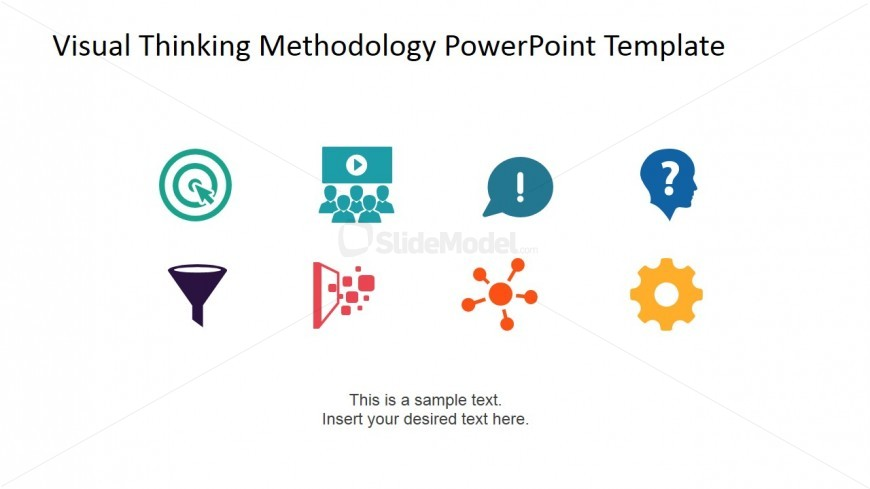 PowerPoint Icons Featuring Visual Thinking