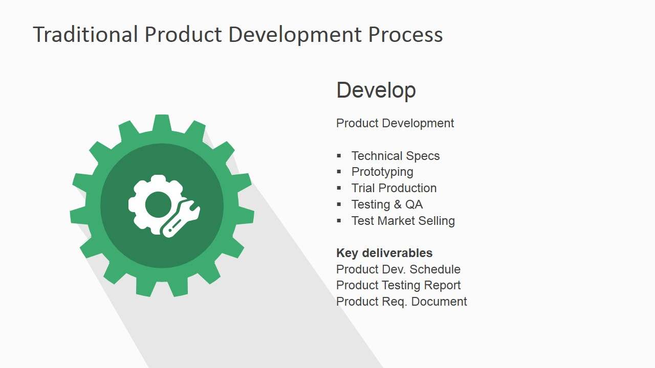 Traditional Product Development Process for PowerPoint ...