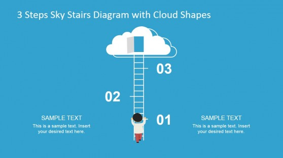 PowerPoint Cloud Shapes for Presentations