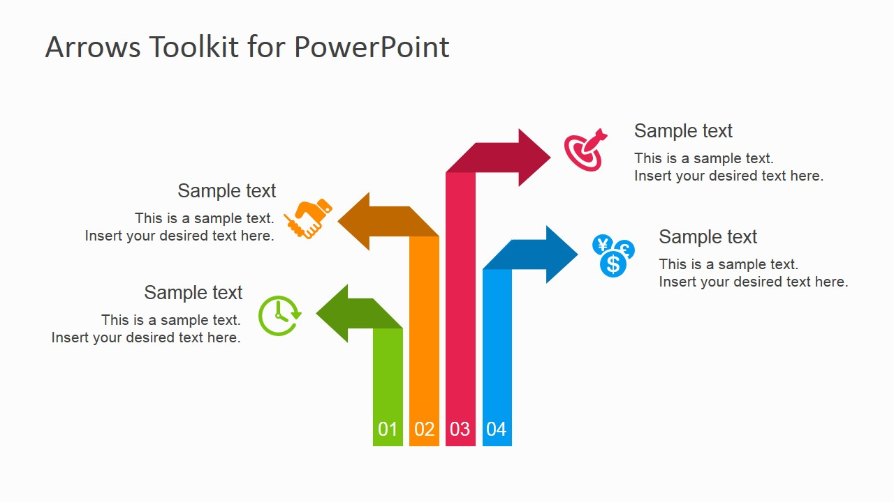 how to put arrows in powerpoint