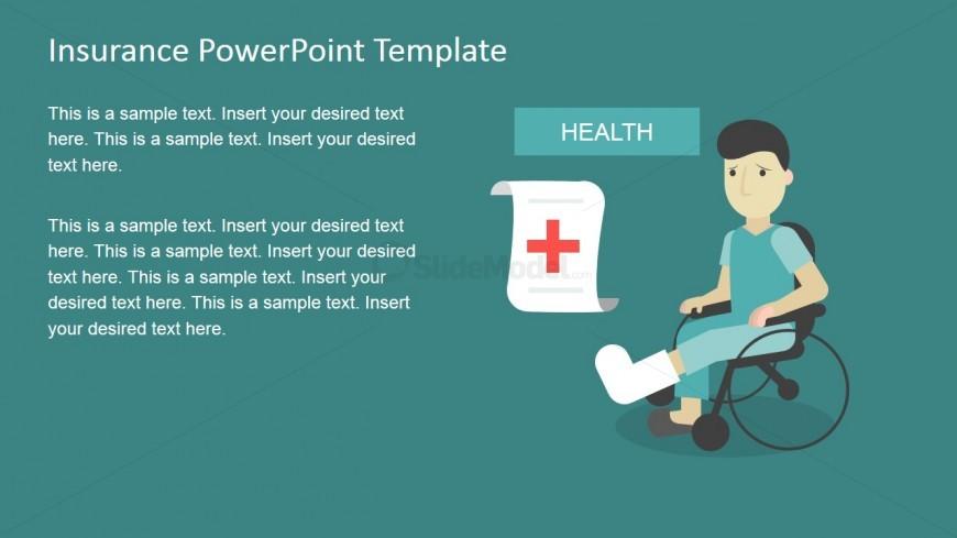 medical insurance slide design