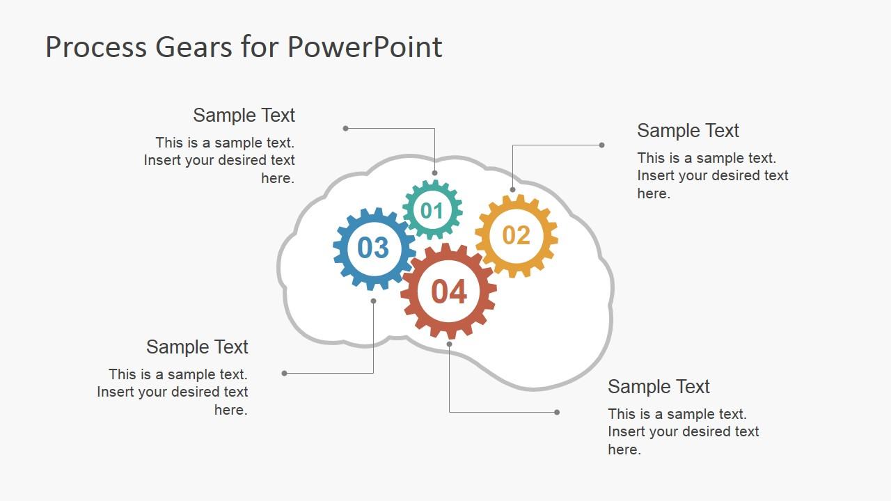 Brain Ideas Shape for PowerPoint
