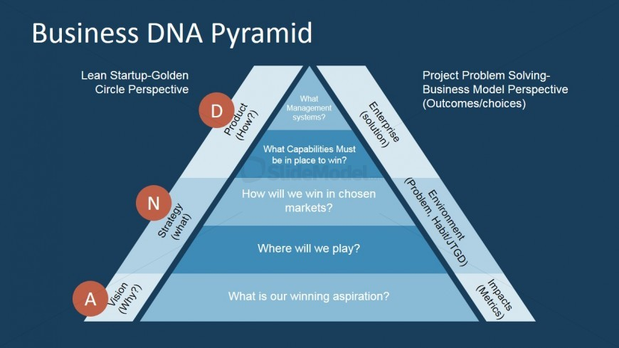 PowerPoint Business DNA Framework Template