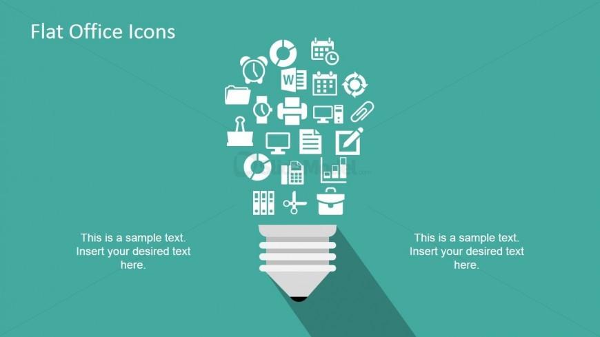 Creative Light Bulb Illustration Vector