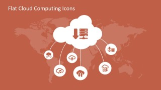 Cloud Computing Tree Diagram for PowerPoint